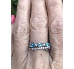 Кольцо серебряное (7256.10к)
