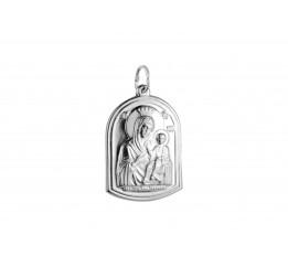 Ладанка серебряная Вифлиемская Божией Матери (7158.10)