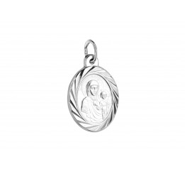 Ладанка серебряная Богородица (7138.10)
