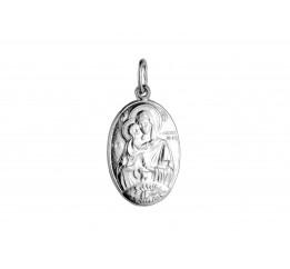 Ладанка серебряная Владимирская Божья Матерь (7154.10)
