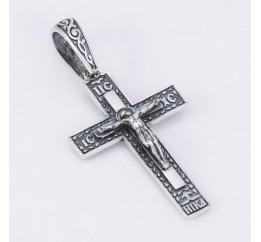 Подвес серебряный Крестик (5187)