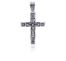 Подвес серебряный Крестик (5199)