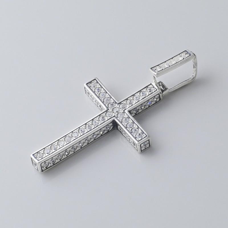 Подвес серебряный Крестик (5155)