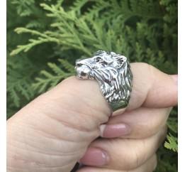Печатка серебряная Лев (807)