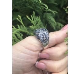 Печатка серебряная Лев (523)