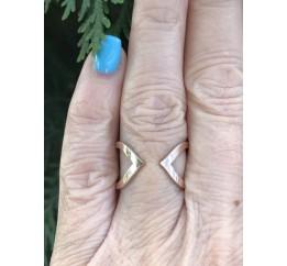 Кольцо серебряное с золотом (0452.10)