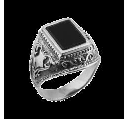 Печатка серебряная Титан (613ч)