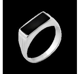 Печатка серебряная с ониксом (616р)