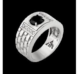Печатка серебряная с ониксом (413р(т))