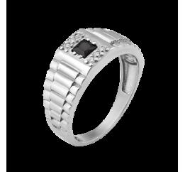 Печатка серебряная с фианитом (670р)