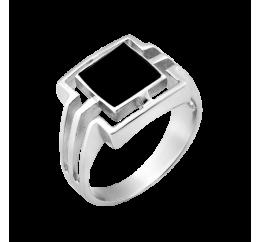 Печатка серебряная с ониксом (п294р)