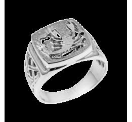 Печатка серебряная Скорпион (448ч)