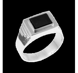 Печатка серебряная с ониксом (123р)