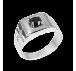 Печатка серебряная с ониксом (115р(т))