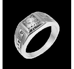Печатка серебряная с фианитом (430р)