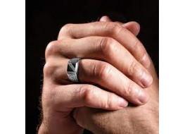 Печатки серебряные мужские