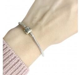 Серебряный браслет SilverBreeze без камней (1287408) 17 размер