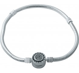 Серебряный браслет SilverBreeze с фианитами (1931073) 17 размер