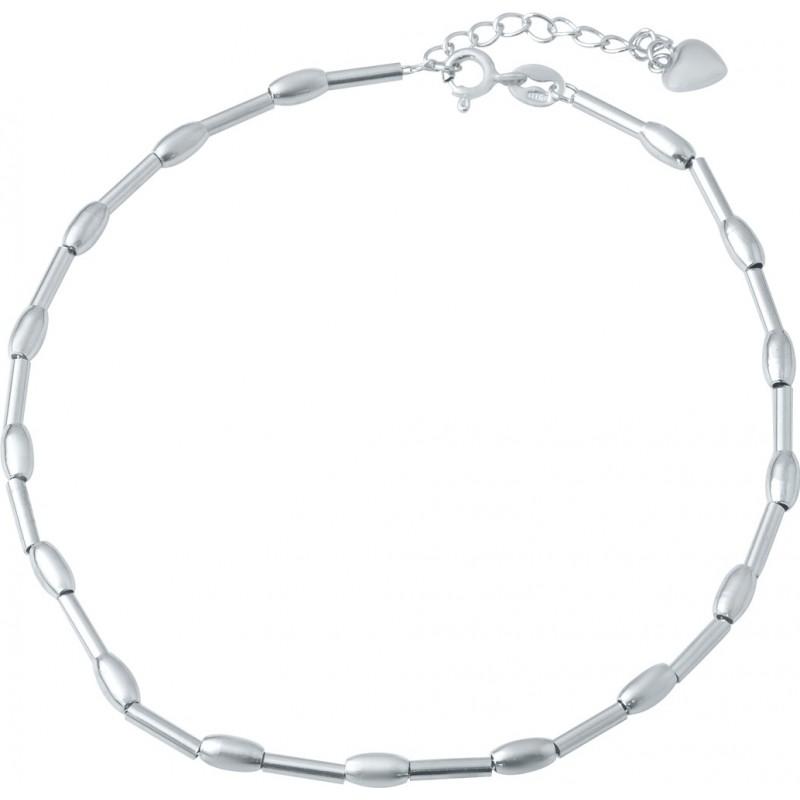 Серебряный браслет на ногу SilverBreeze без камней (1936115) 2326 размер