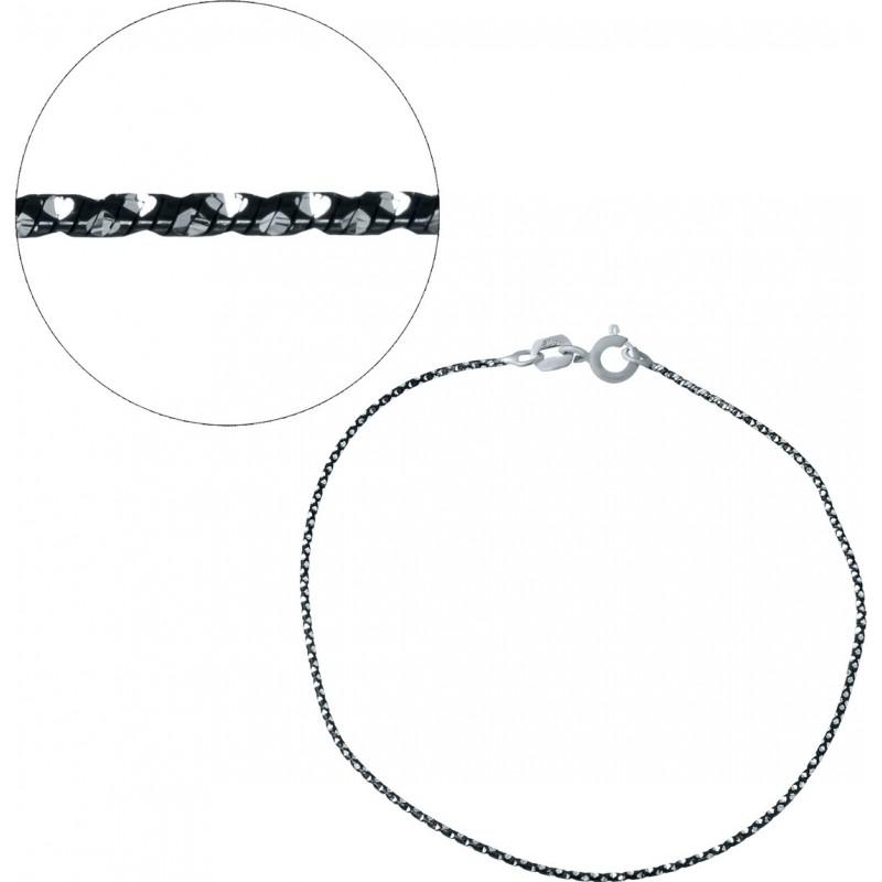 Серебряный браслет SilverBreeze без камней (1936382) 18 размер