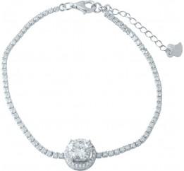 Серебряный браслет SilverBreeze с фианитами (1955758) 1720 размер