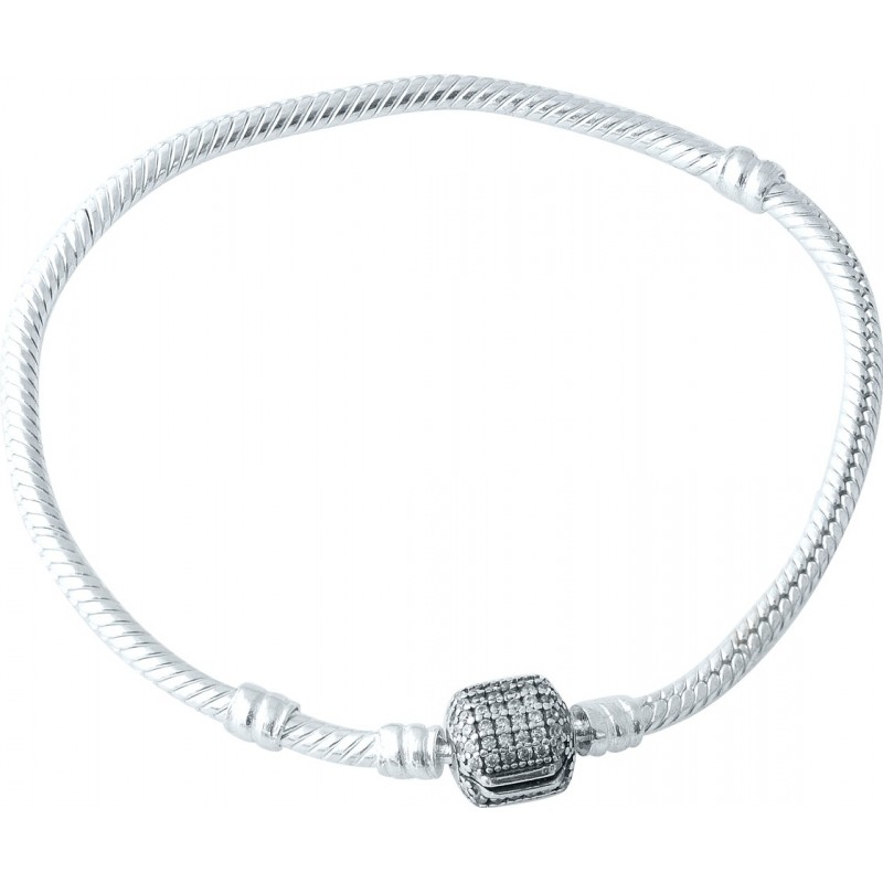 Серебряный браслет SilverBreeze с фианитами (1966808) 18 размер