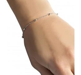 Серебряный браслет SilverBreeze без камней (1967072) 1720 размер