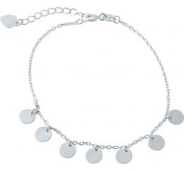 Серебряный браслет SilverBreeze без камней (1975701) 1720 размер