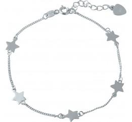 Серебряный браслет SilverBreeze без камней (1981597) 1720 размер