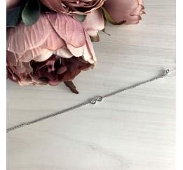 Серебряный браслет SilverBreeze без камней (1982990) 1720 размер
