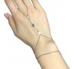 Серебряный браслет SilverBreeze без камней (1983133) 1720 размер