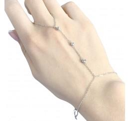 Серебряный браслет SilverBreeze без камней (1983188) 1720 размер