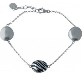 Серебряный браслет SilverBreeze с емаллю (1985786) 1720 размер
