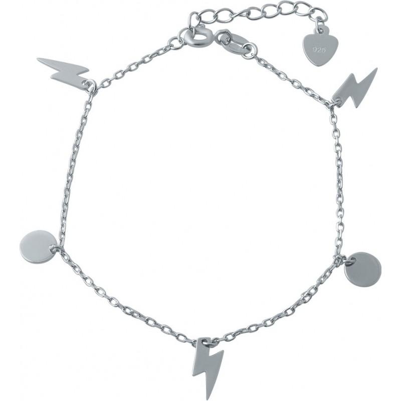 Серебряный браслет на ногу SilverBreeze без камней (1993965) 2326 размер