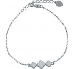 Серебряный браслет SilverBreeze с емаллю (1994078) 1720 размер
