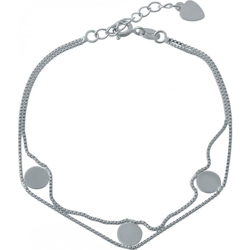 Серебряный браслет SilverBreeze без камней (1994085) 1720 размер