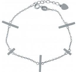 Серебряный браслет SilverBreeze без камней (1994115) 1720 размер