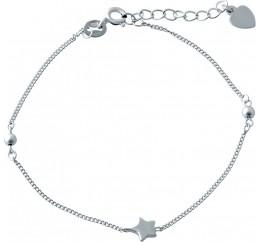 Серебряный браслет SilverBreeze без камней (1994122) 1720 размер