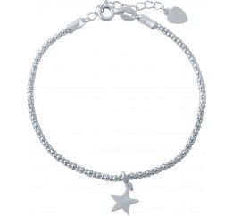 Серебряный браслет SilverBreeze без камней (1994184) 1720 размер