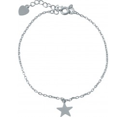 Серебряный браслет SilverBreeze без камней (1994238) 1720 размер