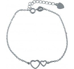 Серебряный браслет SilverBreeze без камней (2014379) 1618 размер