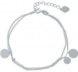 Серебряный браслет SilverBreeze без камней (2014416) 1720 размер