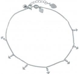 Серебряный браслет на ногу SilverBreeze без камней (2014430) 2326 размер