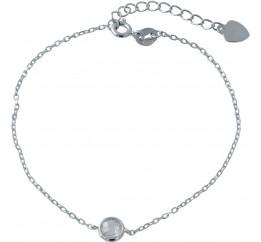 Серебряный браслет SilverBreeze с фианитами (2014447) 1720 размер