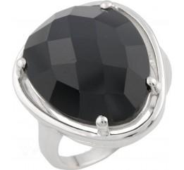 Серебряное кольцо SilverBreeze с натуральным агатом (0476414) 18.5 размер