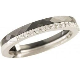 Серебряное кольцо SilverBreeze с керамикой (1213636) 17.5 размер