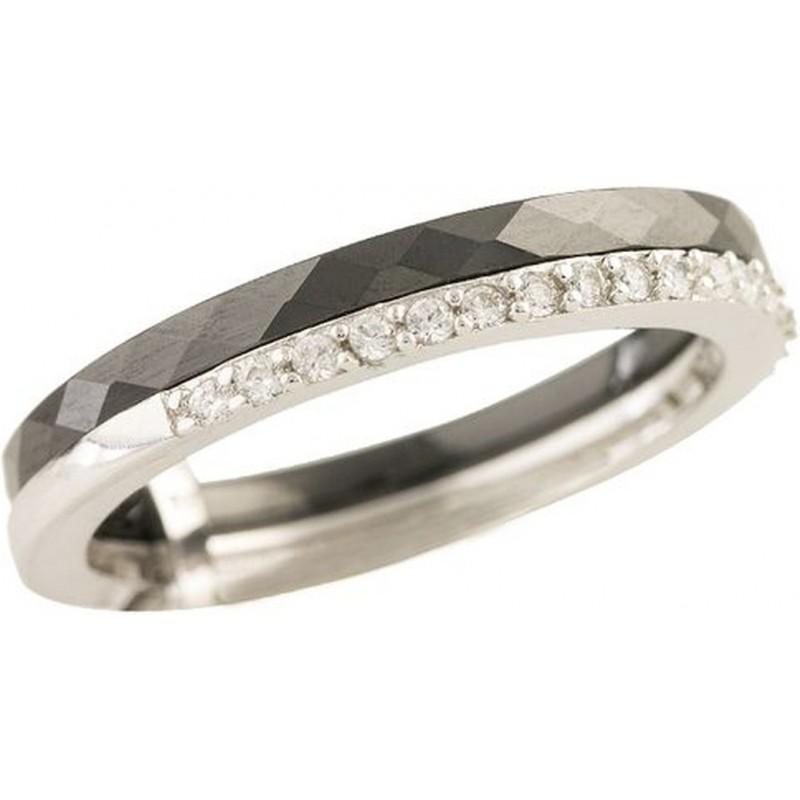 Серебряное кольцо SilverBreeze с керамикой (1213636) 17 размер