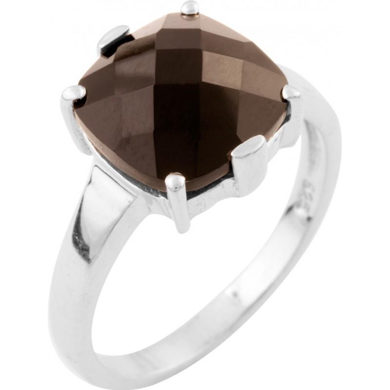 Серебряное кольцо SilverBreeze с натуральным ониксом (1633519) 19 размер