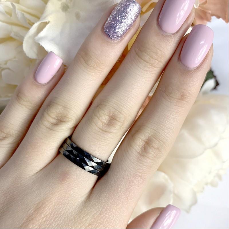 Серебряное кольцо SilverBreeze с керамикой (1886168) 17 размер