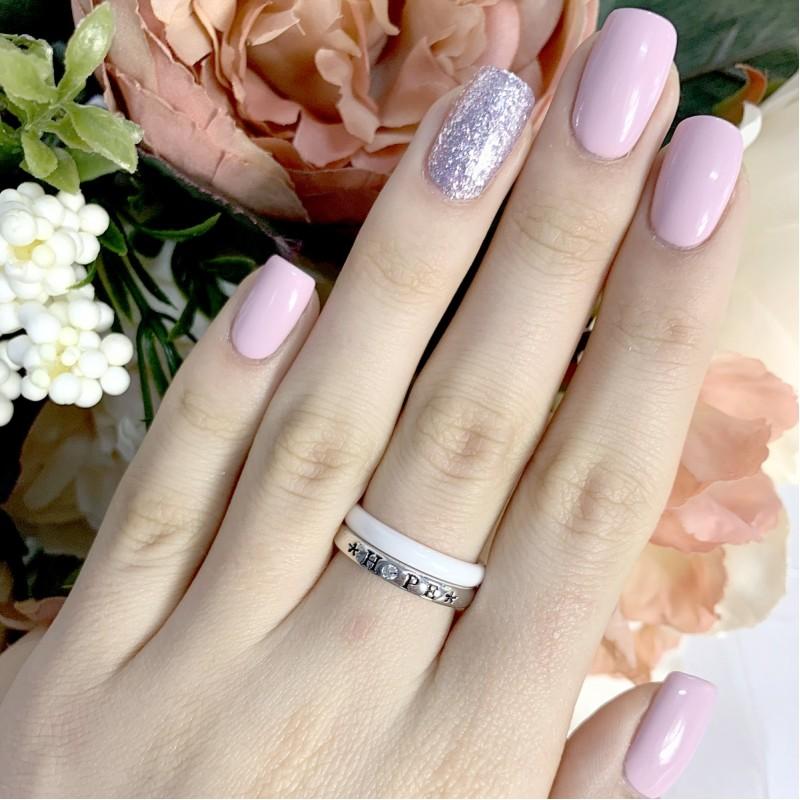 Серебряное кольцо SilverBreeze с керамикой (1908259) 17 размер